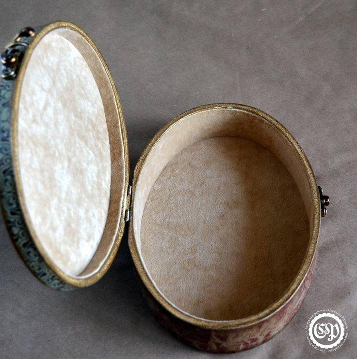 Обивка внутренней поверхности шкатулки бархатом, мастер-класс, делюсь секретами:)