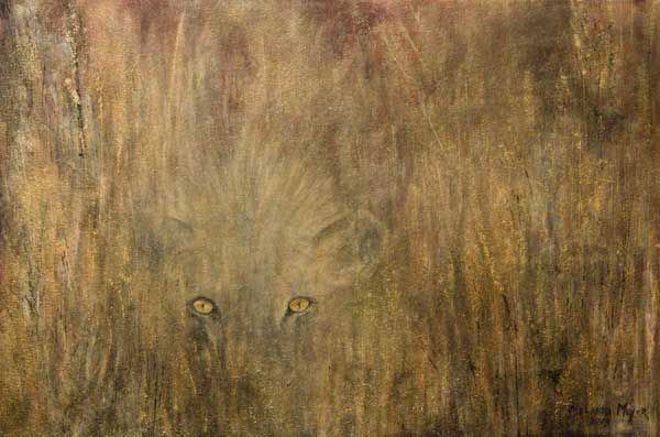 """""""Silent Discerning Witness"""" by Melanie Meyer from her Emergence Art Gallery in Cape Town"""