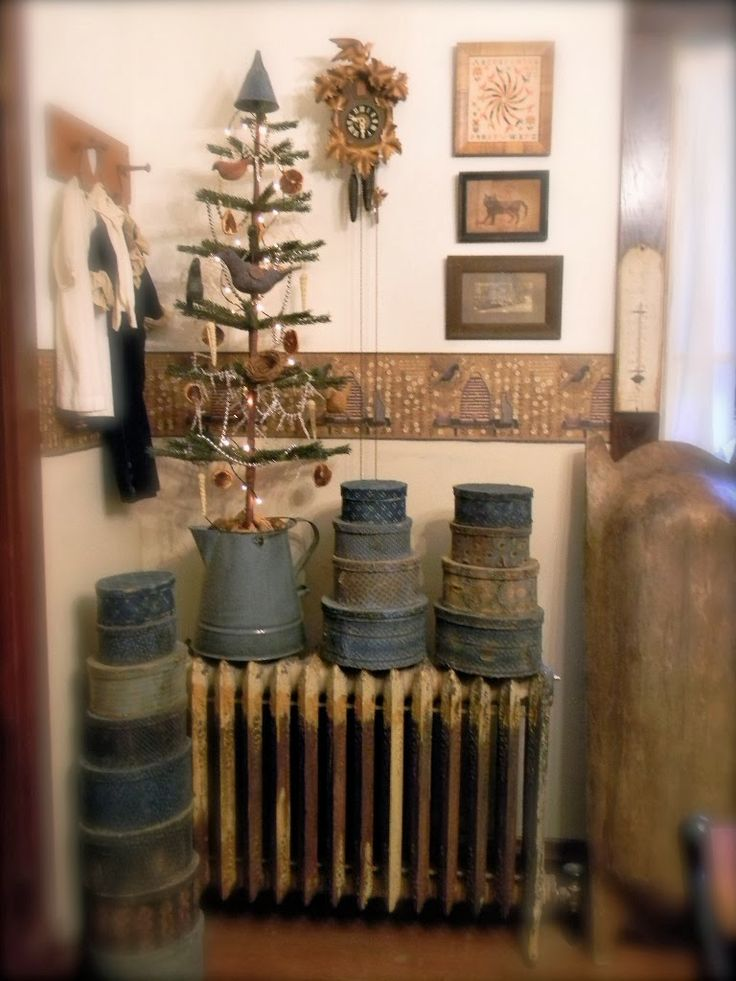 Check out that radiator....I remember those....such a pretty grouping.