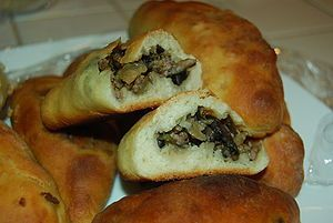 Rancho Canyon Cookbook: Ok, some Russian food , Meat Piroshki