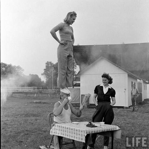 Circus people (Alfred Eisenstaedt. 1941)