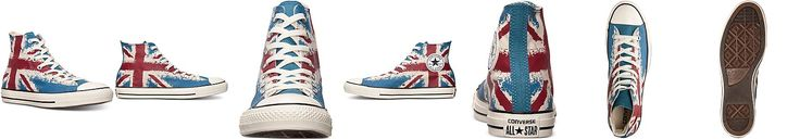 Converse Men's Chuck Taylor High Union Jack Casual Sneakers from Finish Line