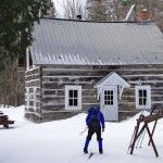 Cross-country Skiing in Gatineau Park, Quebec