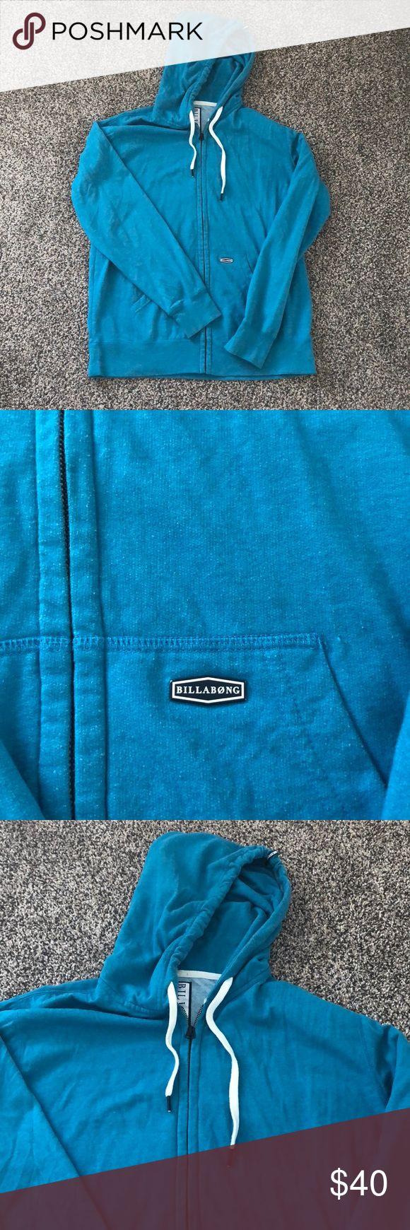 Billabong Blue Zip up Hoodie Billabong Blue Zip up Hoodie Billabong Shirts Sweatshirts & Hoodies