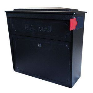 Mail Boss Townhouse Wall Mount Locking Mail Box Black - Mail Boss 7172 by Mail Boss. $129.00. Epoch #7172 Black Townhouse Mailbox. EPOCH DESIGN LLC. Mail Boss 7172 Townhouse Wall Mount Locking Mail Box Black.