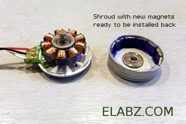 Hub Motor For Electric Inline Skates Shroud Bell With