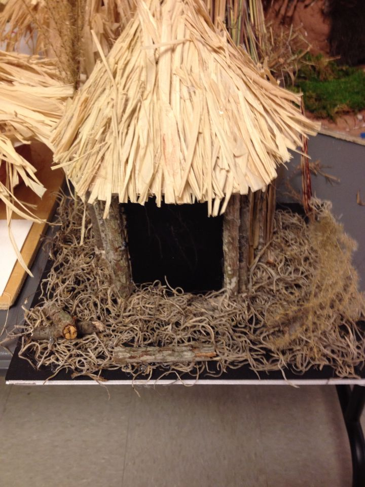 School project cherokee house
