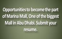 Jobs in Marina Mall Abu Dhabi | Submit your Resume