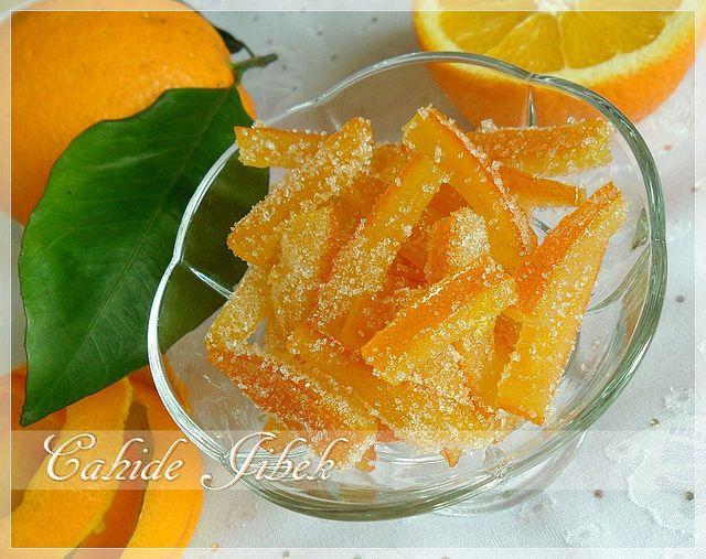 portakal şekerlemesi nasıl yapılır