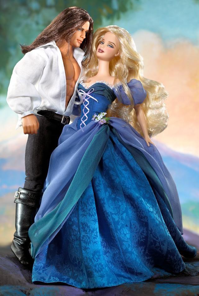 Jude Deveraux The Raider — Barbie® and Ken® Doll Giftset | Barbie Collector 2003  Mattel