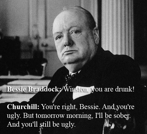 Winston Churchill Vs. Bessie Braddock | The 32 Wittiest Comebacks Of All Time