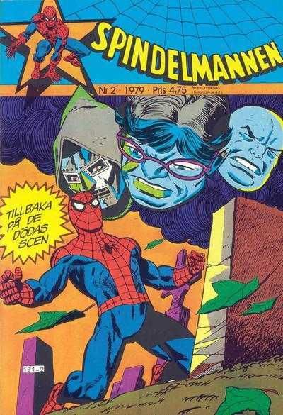 Today's Comic Cover - Spindelmannen released by Egmont on February 1, 1979