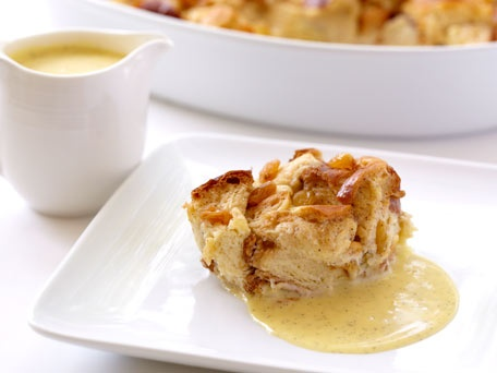 bean takes the center stage in this classic bread pudding. Any bread ...
