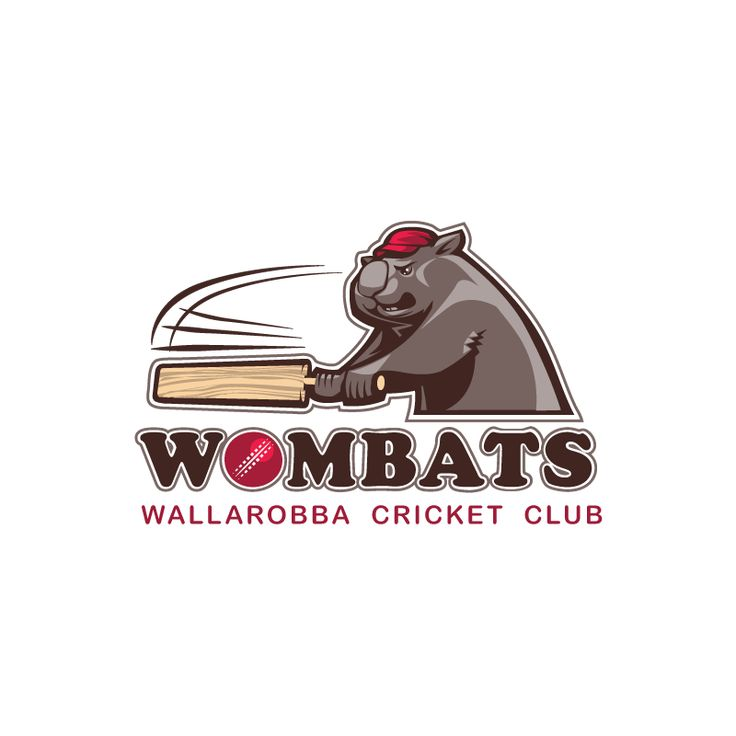 Logo Design by Serj for Cricket Club #cricket #logo #design #DesignCrowd #sport