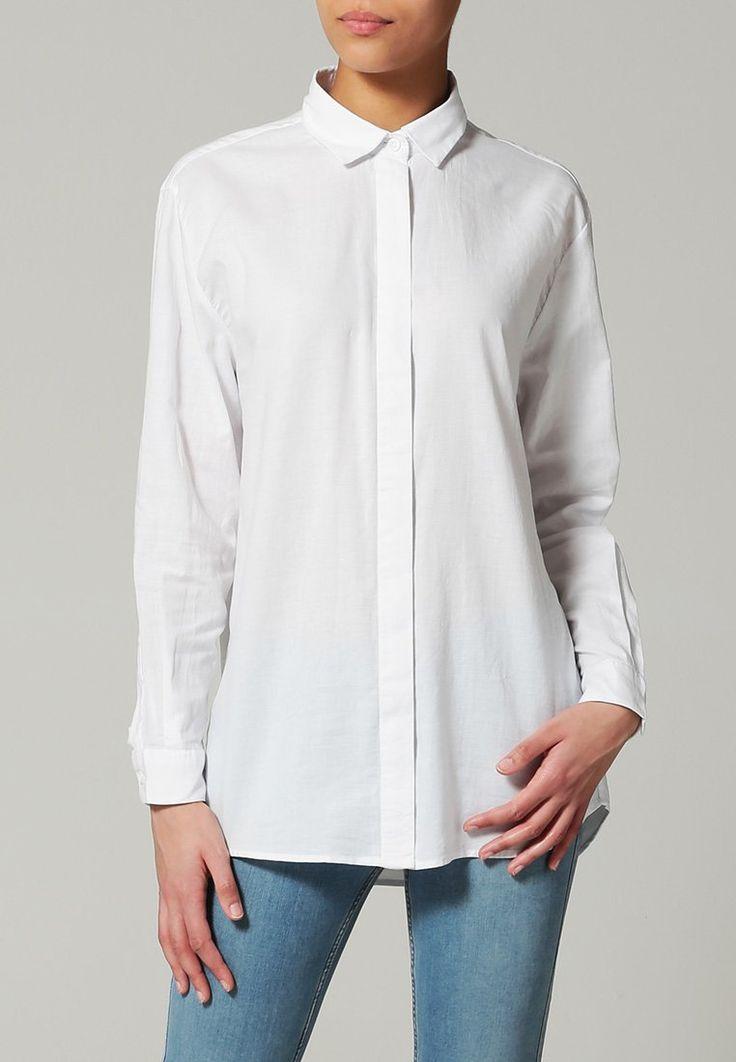 Bestill Samsøe & Samsøe CAICO - Skjorte - white for kr 599,00 (05.12.15) med gratis frakt på Zalando.no