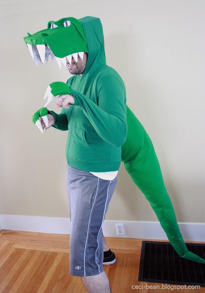 CeciBean: Last minute costume: Dinosaurs