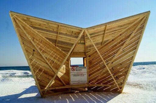 #winterstations at #thebeaches in #Toronto. Running until March 20, 2015!: http://www.thepurplescarf.ca/2015/03/culture-exhibit-beaches-winter-stations.html #culture #art #thepurplescarf #melanieps #ExploreTO