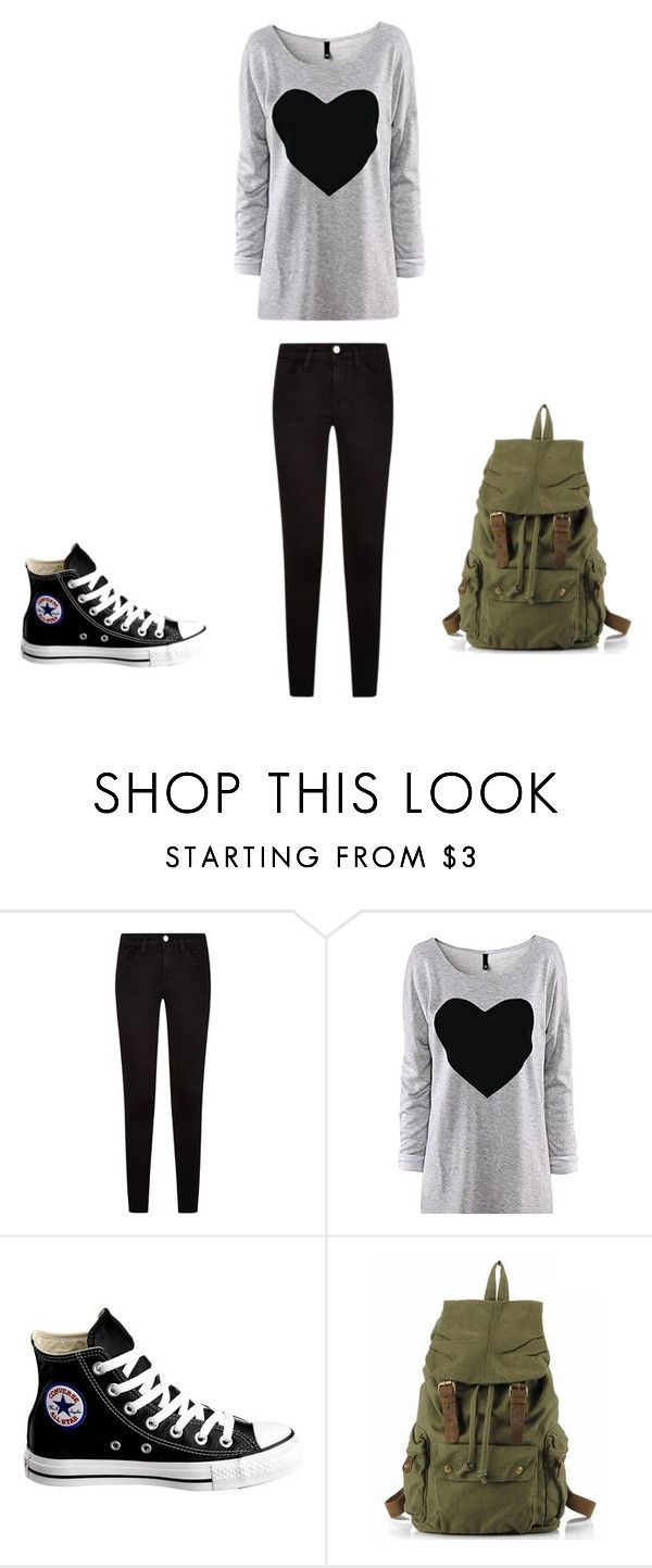 """On an adventure"" by chloejmo on Polyvore featuring Converse"