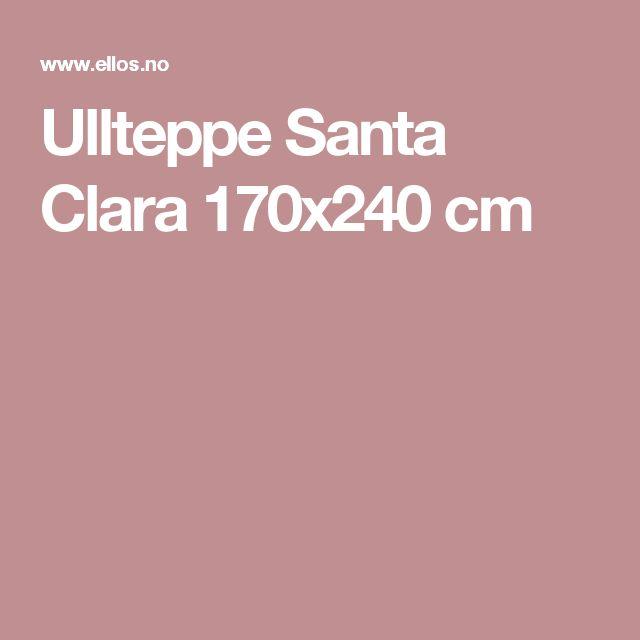 Ullteppe Santa Clara 170x240 cm
