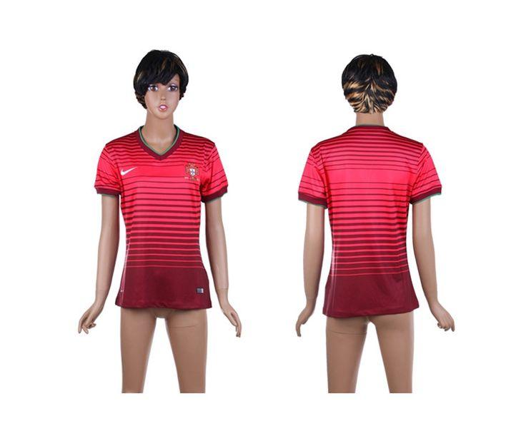 Portogallo Maglie Calcio Mondiali 2014 Donna Casa