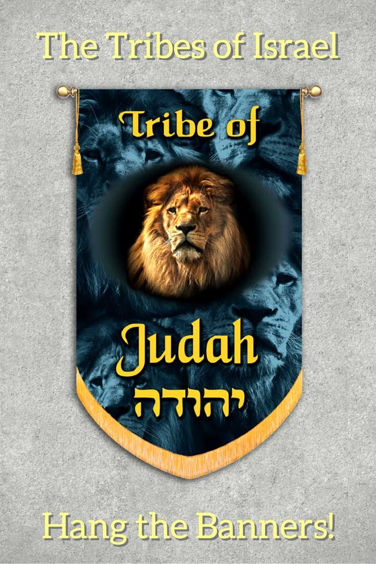"The tribe of Judah descended from the patriarch Judah, the fourth son of Jacob and Leah (Gen. 29:35) Jesus himself descended from the Tribe of Judah. ""Weep no more; behold, the Lion of the tribe of Judah, the Root of David, has conquered, so that he can open the scroll and its seven seals."" Rev. 5:5"