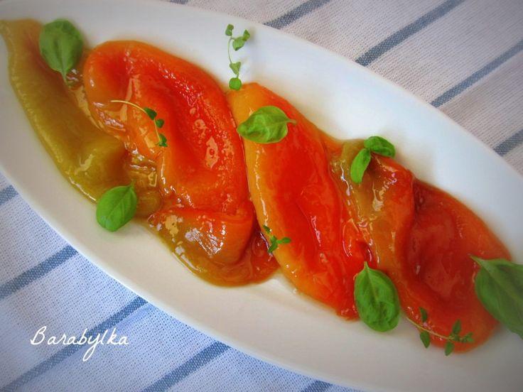 Сладкий перец запечённый и маринованный в собственном соку: foodclub_ru