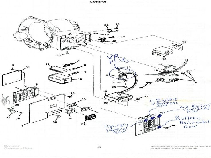 Onan 4000 Rv Generator Parts Diagram (With images