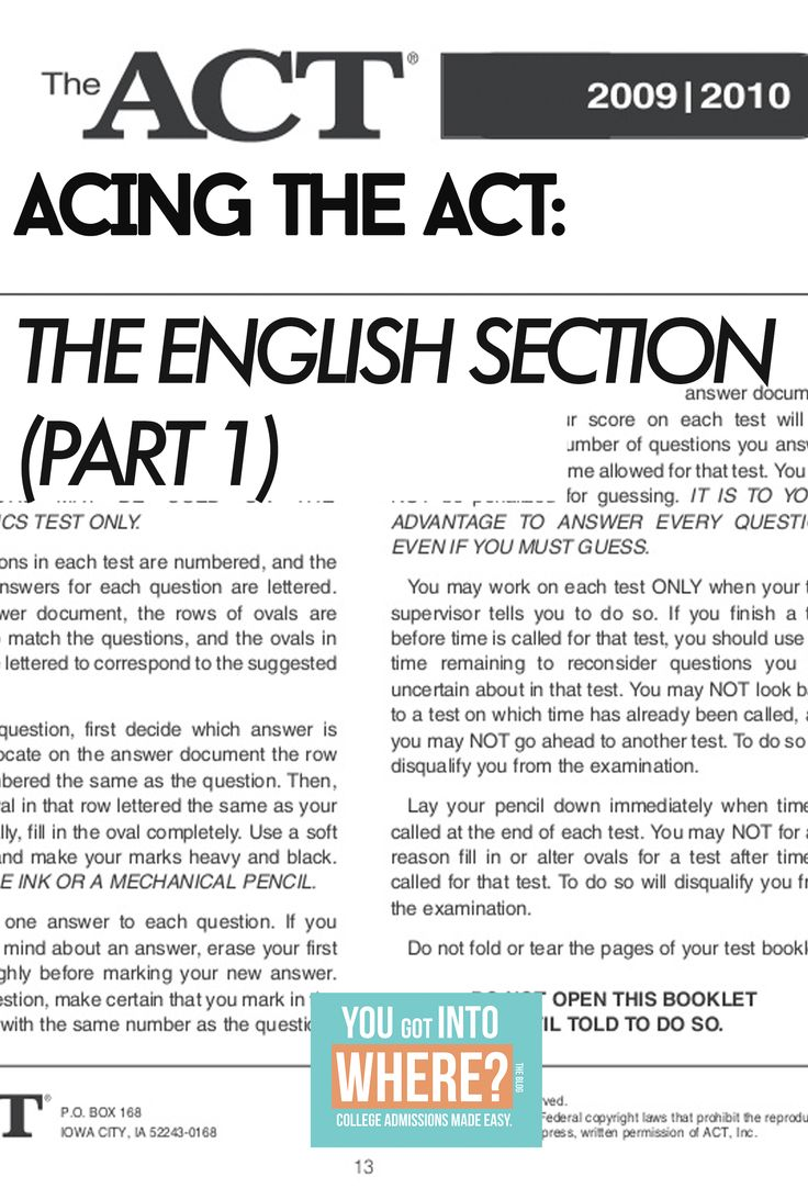 "{How I got a 35 on the English ACT} ""I admire people who dare to take the language English, and understand it and understand it's melody."" –Maya Angelou Let me clue you in on a little secret: I hat…"