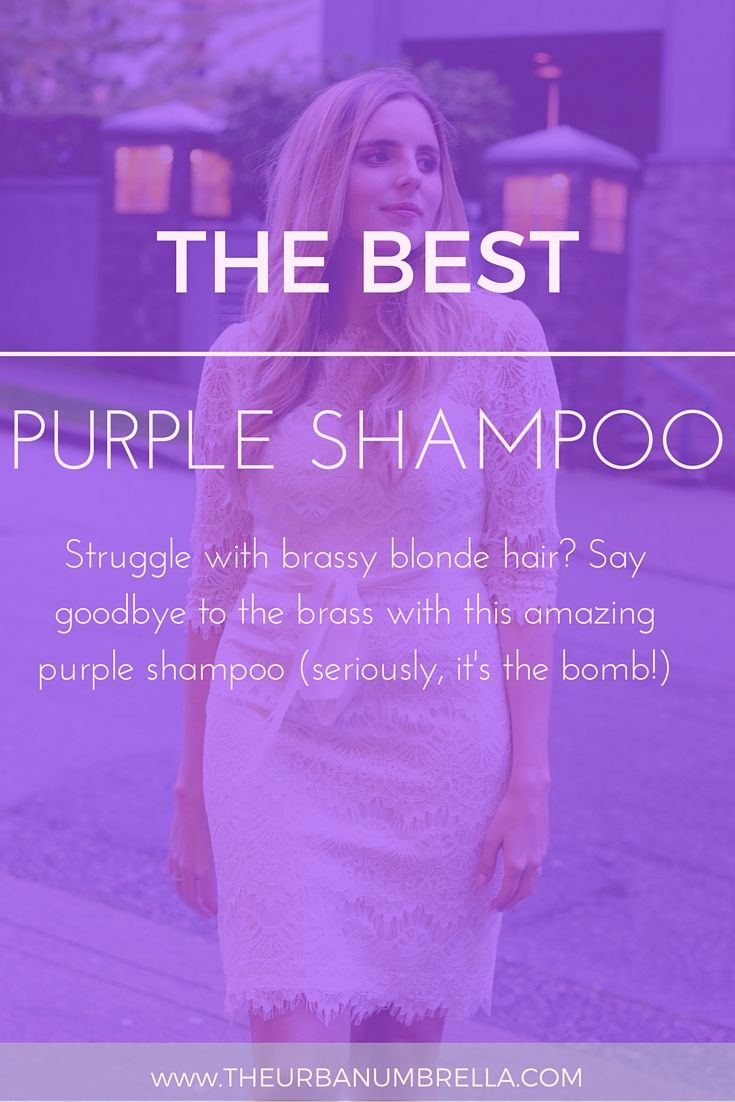 The Best Purple Shampoo for Blondes (Fix Brassy Hair for Good!) || Struggling…