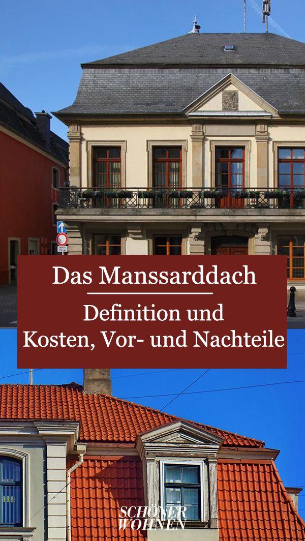 Mansarddach Definition Bauweise Vor Und Nachteile Mansarddach Mansardendach Walmdach