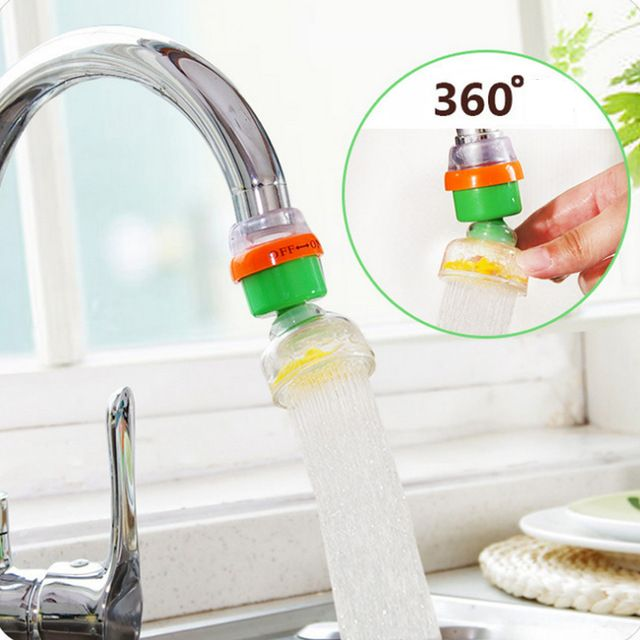 Household 360 Degree Activated Carbon Magnetization Rotatable Home Kitchen Faucet Water Filter Water Filter 2018 Hot Sale Review Tap Water Filter Filtered Water Faucet Water Purifier