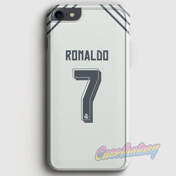 Cristian Ronaldo Real Madrid Jersey New Kit iPhone 7 Case | casefantasy
