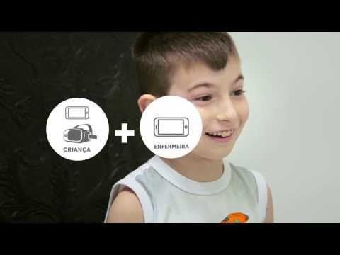 Realidade virtual transforma a experiência da vacinação infantil  - Hermes Pardini