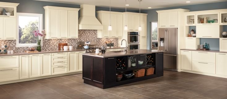 Black Kitchen Islands Shenandoah Cabinetry, Exclusively At Lowe's | For My Girls