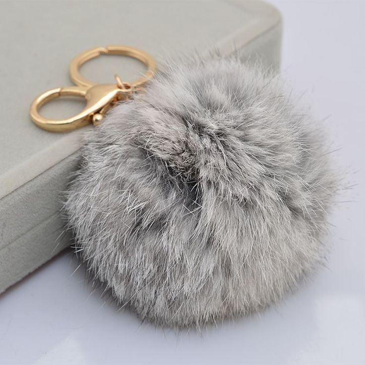 Dope Fur KeyChain Can Use/Wear Everyday No Animals Were Hurt In The Making