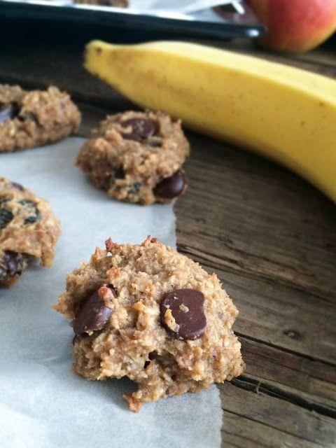 Fitt fazék kultúrblog : Csokis zabfalatok mogyoróvajjal.(Glutén-, tej-, cukor-, olaj-, lisztmentes. Vegán apró falatok.