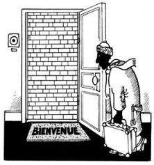 L'anecdote est restée célèbre. En 1991, Plantu, le caricaturiste du journal Le Monde, avait rencontré Yasser Arafat à Tunis, lors d'une exposition. Sur un dessin représentant Israël et la Palestine côte à côte, le chef palestinien avait dessiné l'étoile de David du drapeau israélien, et signé le tout.