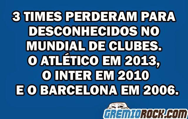 GRÊMIO ROCK | Humor negro, azul e branco: Mazembe DayGRÊMIO ROCK /// O melhor do Grêmio, do Futebol e da Sacanagem! Imortal Tricolor