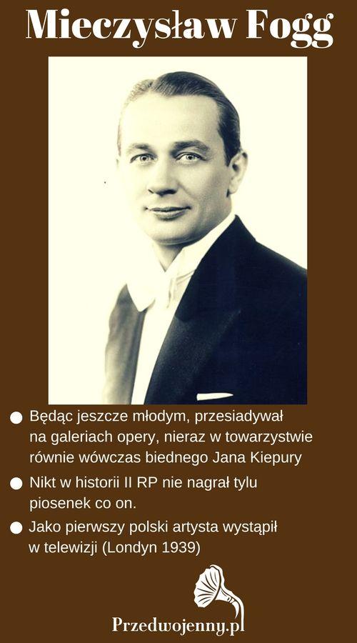 Mieczysław Fogg w czasach II RP - Drugiej Rzeczypospolitej