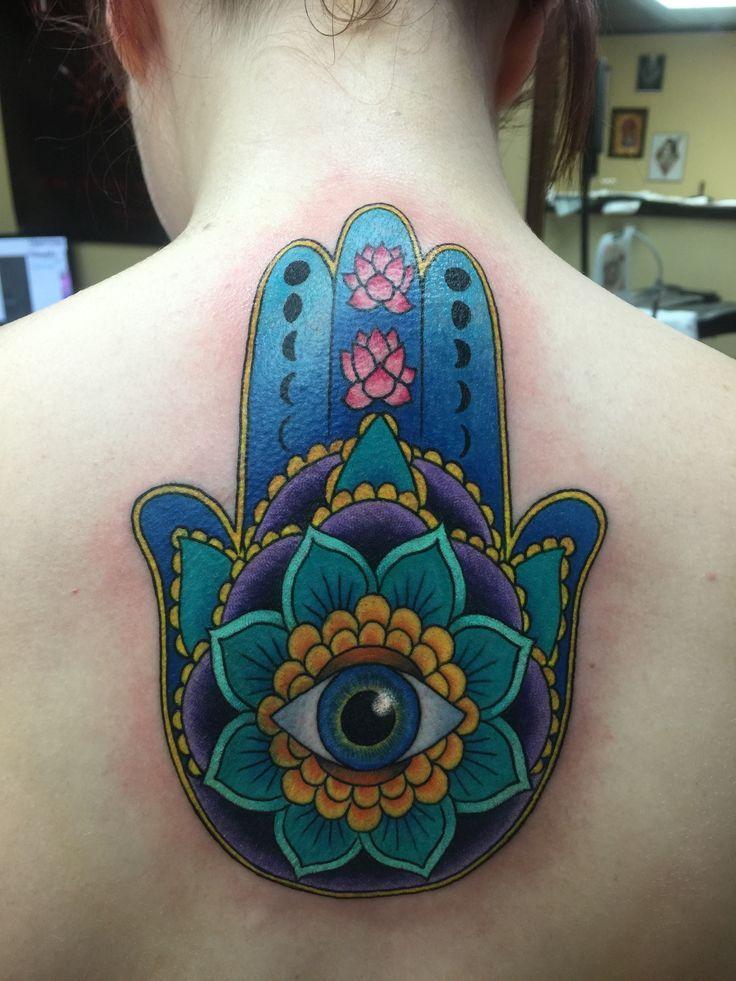 ... Hasma Tattoo on Pinterest | Hamsa Tattoo Cameo Tattoo and Tattoos