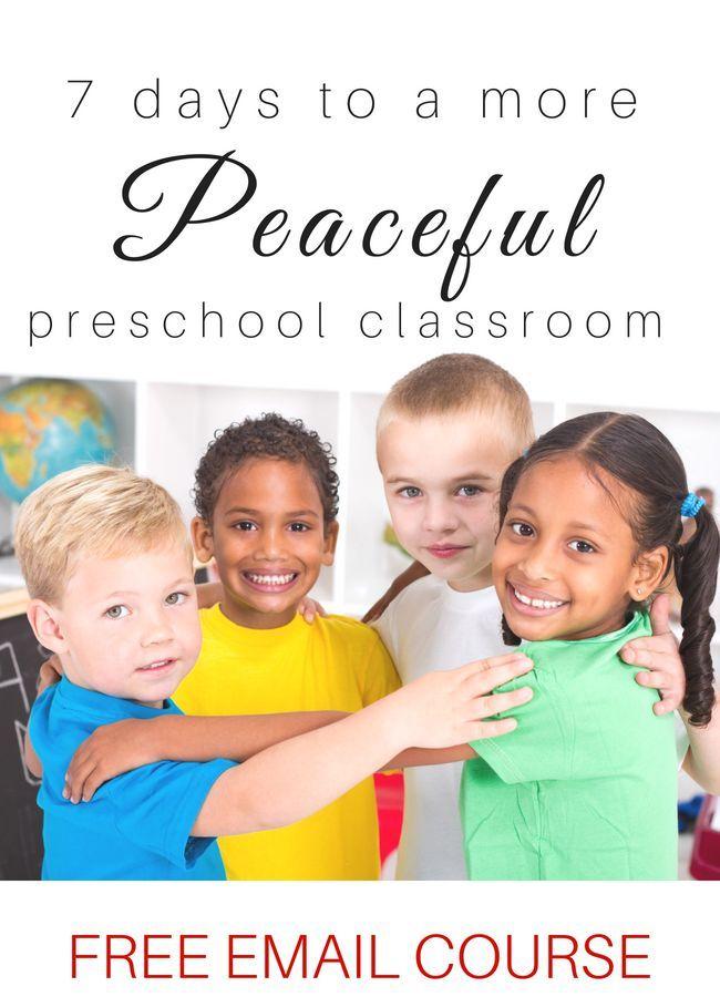 Free Preschool Classroom Management Course | My preschool