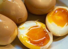 『 辻仁成 』さんがTwitterへ投稿した煮卵レシピです!