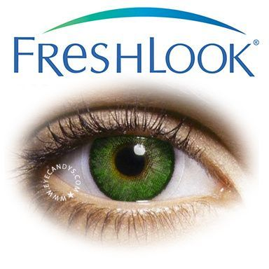 FreshLook is the World's #1 Selling Color Contact Lens! These contacts provide a unique 3-in-1 technology, blending three colors into one to create the subtle, natural depth of beautiful eyes.