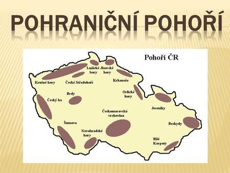 na severu Čech probíhá jimi hranice s Polskem nejvyšší hora Sněžka ( 1 602 m) pramení zde řeka Labe národní park KRNAP.