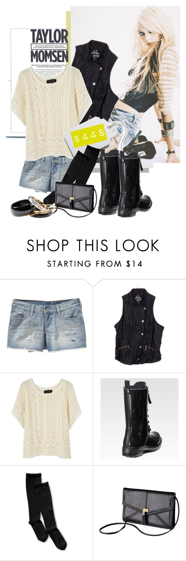 """GET Taylor Momsen look."" by fumikokawa ❤ liked on Polyvore featuring Old Navy, G by Guess, rag & bone, Tag, KORS Michael Kors, Nordstrom, H&M, levitation, photography and taylor momsen"