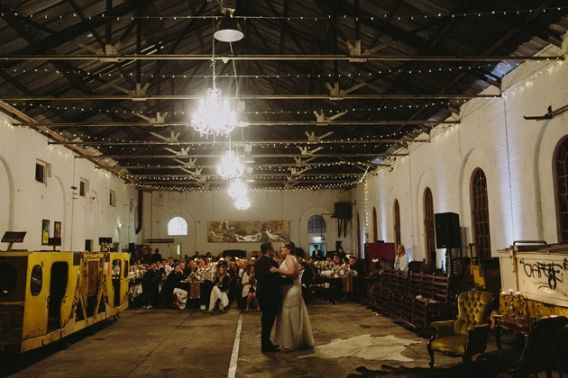 Hayley + Aaron | An industrial Lithgow State Mine wedding. Photo by Willow & Co. www.willowand.co