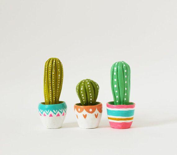 Escultura de cactus regalo para planta de por sweetbestiary