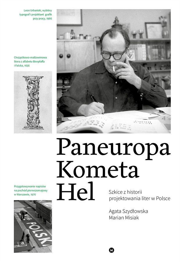 """Okładka książki """"Paneuropa, Kometa, Hel"""" Agaty Szydłowskiej i Mariana Misiaka"""