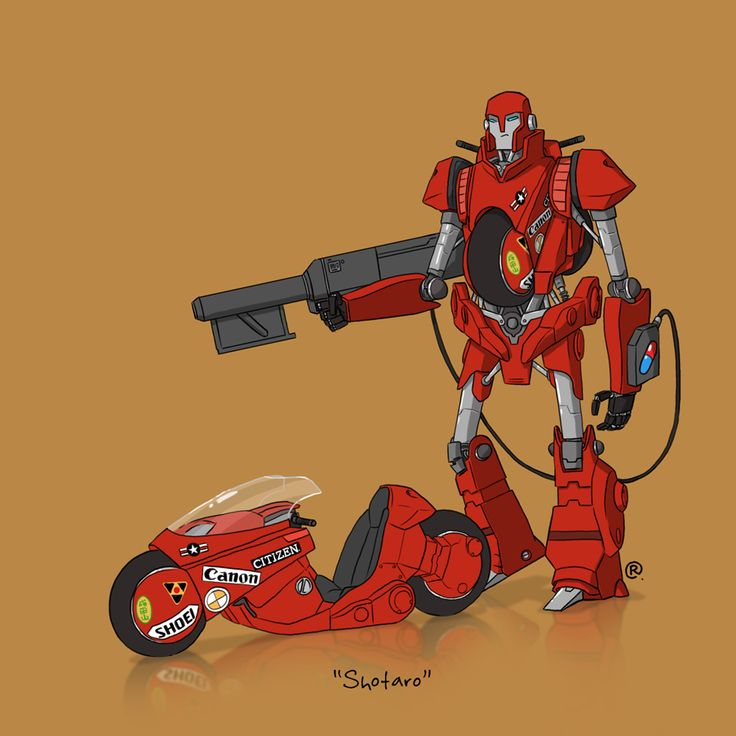 If They Could Transform - Kaneda's Bike by darrenrawlings.deviantart.com on @DeviantArt