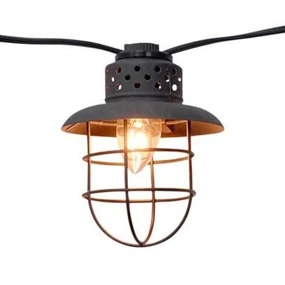 Metal Patio String Lights : Smith & Hawken Metal Cage String Lights (10ct) Pins You Love Pinterest Metals, Patio and ...